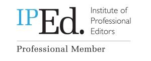 Membership logo of the Institute of Professional Editors (IPEd)